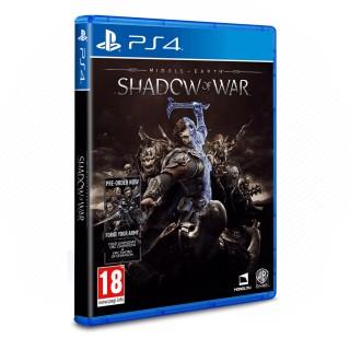 Middle Earth: Shadow of War (használt) PS4