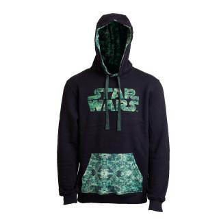 Star Wars CAMO Hoodie - Kapucnis pulcsi - Good Loot (XL-es méret) AJÁNDÉKTÁRGY