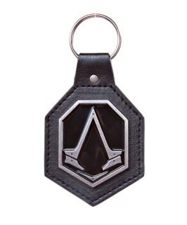 Assassin's Creed Syndicate Metal Logo Leather Keychain - Kulcstartó - Good Loot AJÁNDÉKTÁRGY
