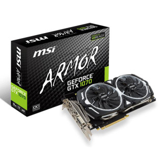 MSI GeForce GTX1070 Armor 8G OC 8GB GDDR5 (V330-003R) PC