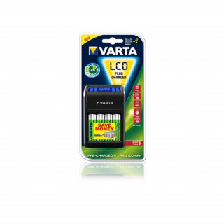 Varta LCD Plug Charger + 4x2100 PC
