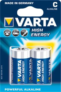 Varta High Energy 2xC PC