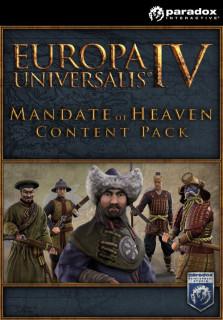 Europa Universalis IV: Mandate of Heaven Content Pack (PC) Letölthető PC