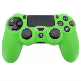 Dualshock 4 szilikontok, zöld PS4