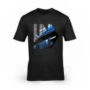Unfield póló, felnőtt S - Fekete AJÁNDÉKTÁRGY