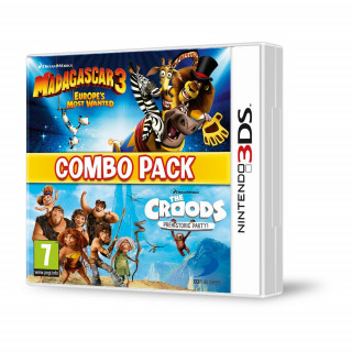 Madagascar 3 & Croods Double Pack 3DS