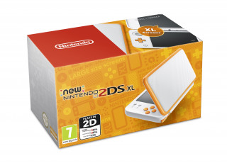 New Nintendo 2DS XL (Fehér-Narancssárga) 3DS