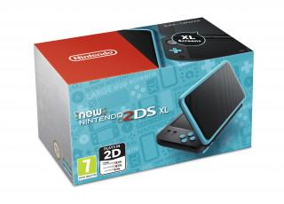 New Nintendo 2DS XL (Fekete-Türkiz) 3DS