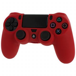 Dualshock 4 szilikontok, piros PS4