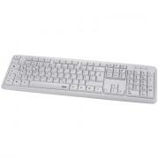Hama 53931 Billentyűzet VERANO Fehér USB PC