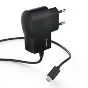 Hama 173670 microUSB hálózati töltő fekete Mobil