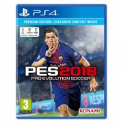 Pro Evolution Soccer 2018 Premium Edition (PES 18) PS4
