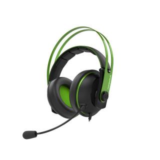 Asus Cerberus V2 Gamer Headset Fekete-Zöld Több platform