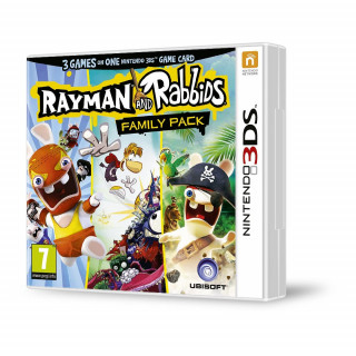 Rayman & Rabbids Family Pack (3 in 1) 3DS