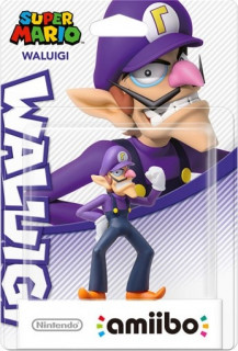 Waluigi - amiibo Super Mario AJÁNDÉKTÁRGY