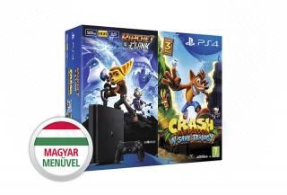 PlayStation 4 Slim (PS4) 500 GB + Crash Bandicoot + Ratchet & Clank PS4