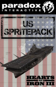 Hearts of Iron III: US Sprite Pack (PC) Letölthető