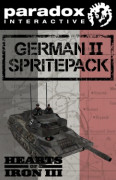 Hearts of Iron III DLC: German II Spritepack (PC) Letölthető