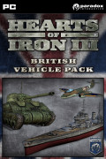 Hearts of Iron III: British Vehicle Pack (PC) Letölthető