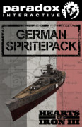 Hearts of Iron III: German Sprite Pack (PC) Letölthető