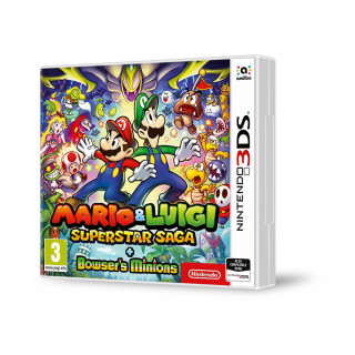 Mario & Luigi: Superstar Saga + Browser's Minions 3DS