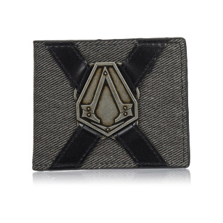 Assassin's Creed pénztárca metál jelvénnyel - Good Loot