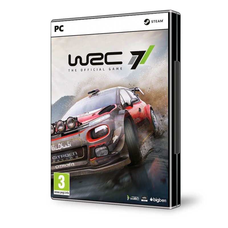 world rally championship 7 wrc 7 pc akci s r konzolvil g. Black Bedroom Furniture Sets. Home Design Ideas