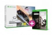 Xbox One S 500GB + Forza Horizon 3 + Rainbow Six Siege + ajándék XBOX ONE