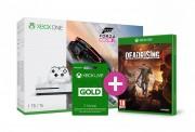Xbox One S 1TB + Forza Horizon 3 + Dead Rising 4 +  3 hónapos Live Gold előfizetés  XBOX ONE