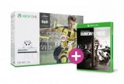 Xbox One S 500GB + FIFA 17 + Rainbow Six Siege + ajándék XBOX ONE