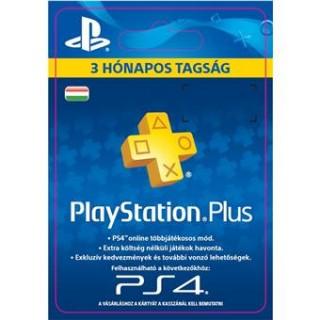 PlayStation Plus kártya 3 hónapos (PSN Plus) (DIGITÁLIS) PS4