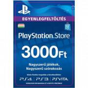 PSN Network kártya 3000 HUF (PSN Network Card - HU) (DIGITÁLIS) PS4