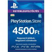 PSN Network kártya 4500 HUF (PSN Network Card - HU) (DIGITÁLIS) PS4