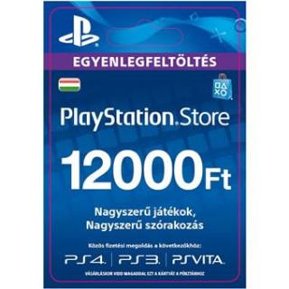 PlayStation Store ajándékkártya 12000 HUF (PS Store Card - HU) (DIGITÁLIS)
