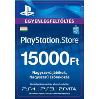 PlayStation Store ajándékkártya 15000 HUF (PS Store Card - HU) (DIGITÁLIS)