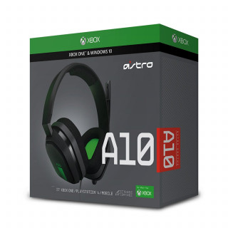 Astro A10 zöld gaming headset