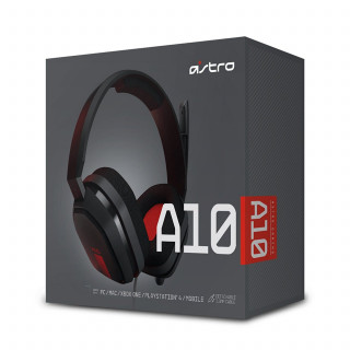 Astro A10 piros gaming headset MULTI