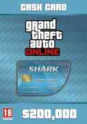 Grand Theft Auto Online: Tiger Shark Card (PC) Letölthető