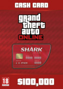 Grand Theft Auto Online: Red Shark Card (PC) Letölthető