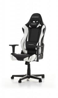 Gamer szék DXRacer Racing Fekete/Fehér (GC-R9-NW-Z1) PC
