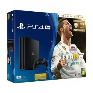 Playstation 4 (PS4) Pro 1TB + FIFA 18 Deluxe Edition PS4