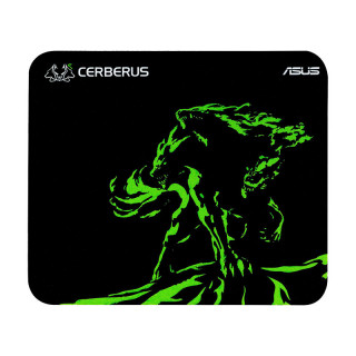 Asus Cerberus MAT MINI GREEN Gamer egérpad PC