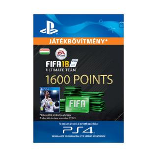 1600 FIFA 18 Points Pack - ESD HUN (Letölthető) PS4