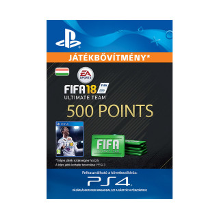 500 FIFA 18 Points Pack - ESD HUN (Letölthető) PS4