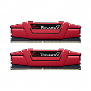 G.Skill DDR4 3000MHz 16GB RipJaws V CL15 KIT (2x8GB)  (F4-3000C15D-16GVRB) PC