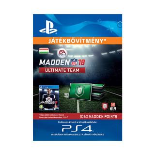 1050 Madden NFL 18 Ultimate Team Points - ESD HUN (Letölthető) PS4