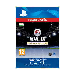 EA SPORTS™ NHL® 18 Young Stars Deluxe Edition - ESD HUN (Letölthető) PS4