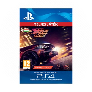 Need for Speed™ Payback - Deluxe Edition - ESD HUN (Letölthető) PS4