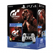 Gran Turismo Sport + Dualshock 4 Wireless Controller (GT Sport Limited Edition) PS4