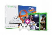 Xbox One S 500GB + Forza Horizon 3 + Hot Wheels DLC + Kontroller + FIFA 18 + Wildlands XBOX ONE